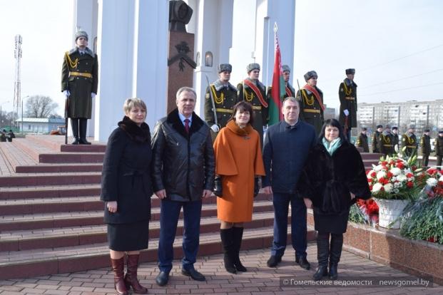 Участие в гомельских торжественных мероприятиях, посвящённых Дню памяти воинов-интернационалистов